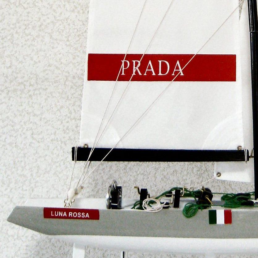 ルナロッサ プラダ PRADA の名前の入ったセール 帆