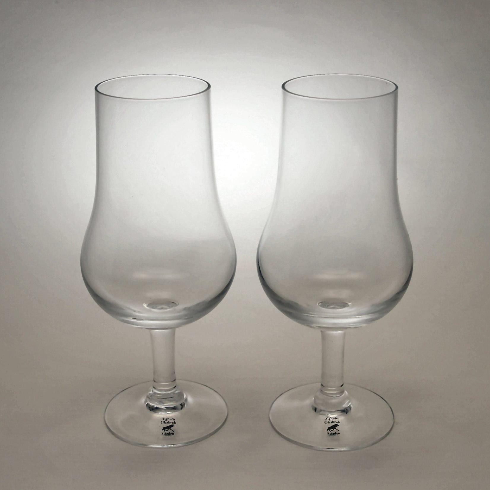アルグハルト ツイスト ワインティスティング グラス ペアセット Alghult Twist Wine Tasting Glass Pair Set