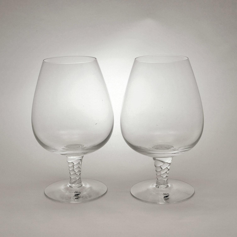 アルグハルト ツイスト コニャック グラス ペア Alghult Twist Cognac Glass Pair