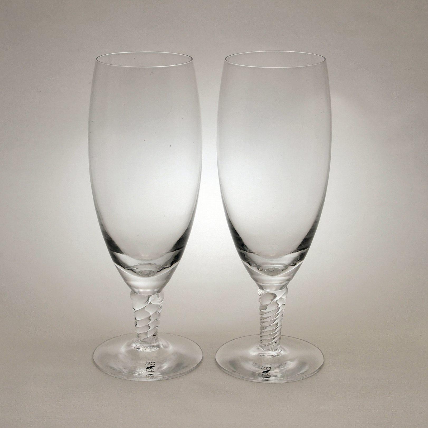 アルグハルト ツイスト ビールグラス ペア Alghult Twist Beer Glass Pair