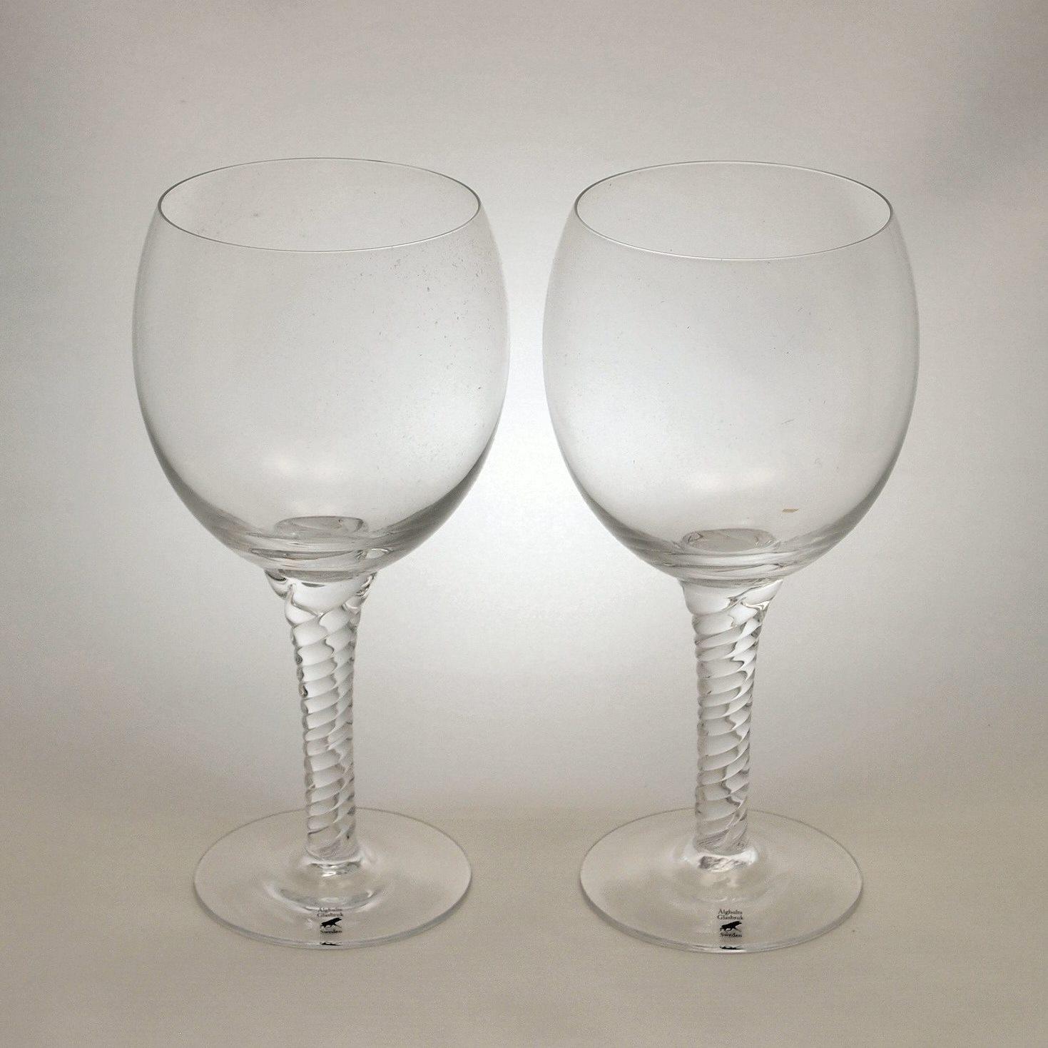 アルグハルト ツイスト 赤ワイングラス ペアセット Alghult Twist Red Wine Glass Pair Set