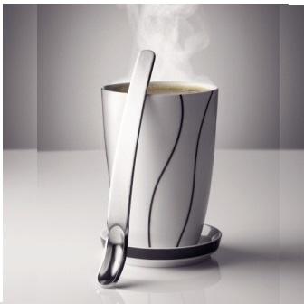 メニュー サーモマグカップ ラージ、蓋、スプーンの セット menu Thermo Mug Cup large lid & spoon set