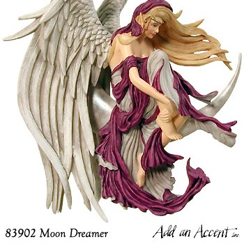 月の上の妖精 ムーンドリーマー Fairy on Moon  Moon Dreamer