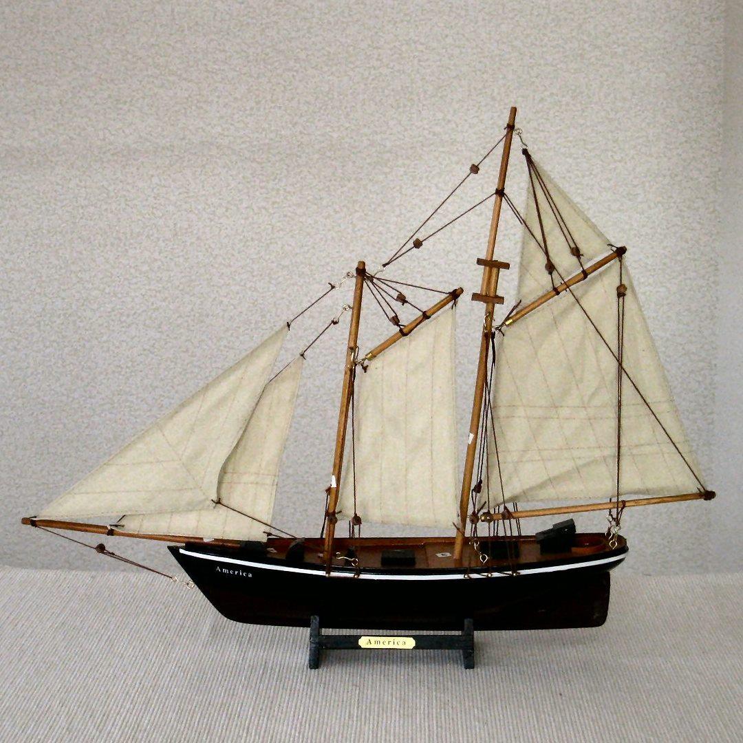 帆船模型 アメリカ号 AMERICA