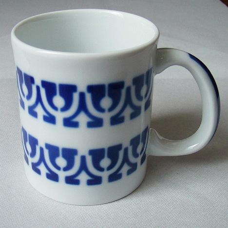 サルガデロス ボルティコ・アスール マグカップ  SARGADELOS bolticoasulu Mug Cup