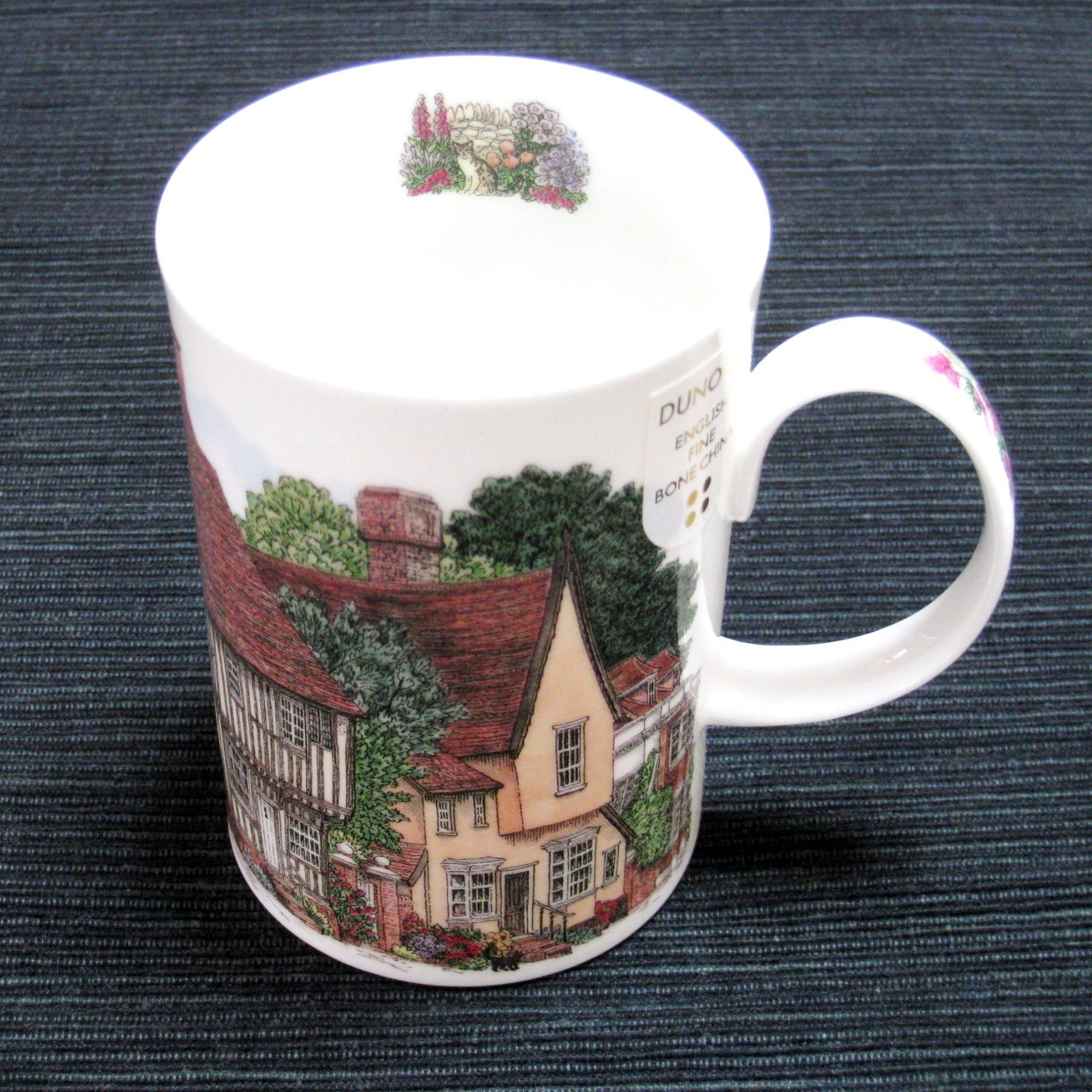 ダヌーン イングリッシュ ガーデン & ビレッジ マグカップ  Dunoon English Garden and Village Mug Cup