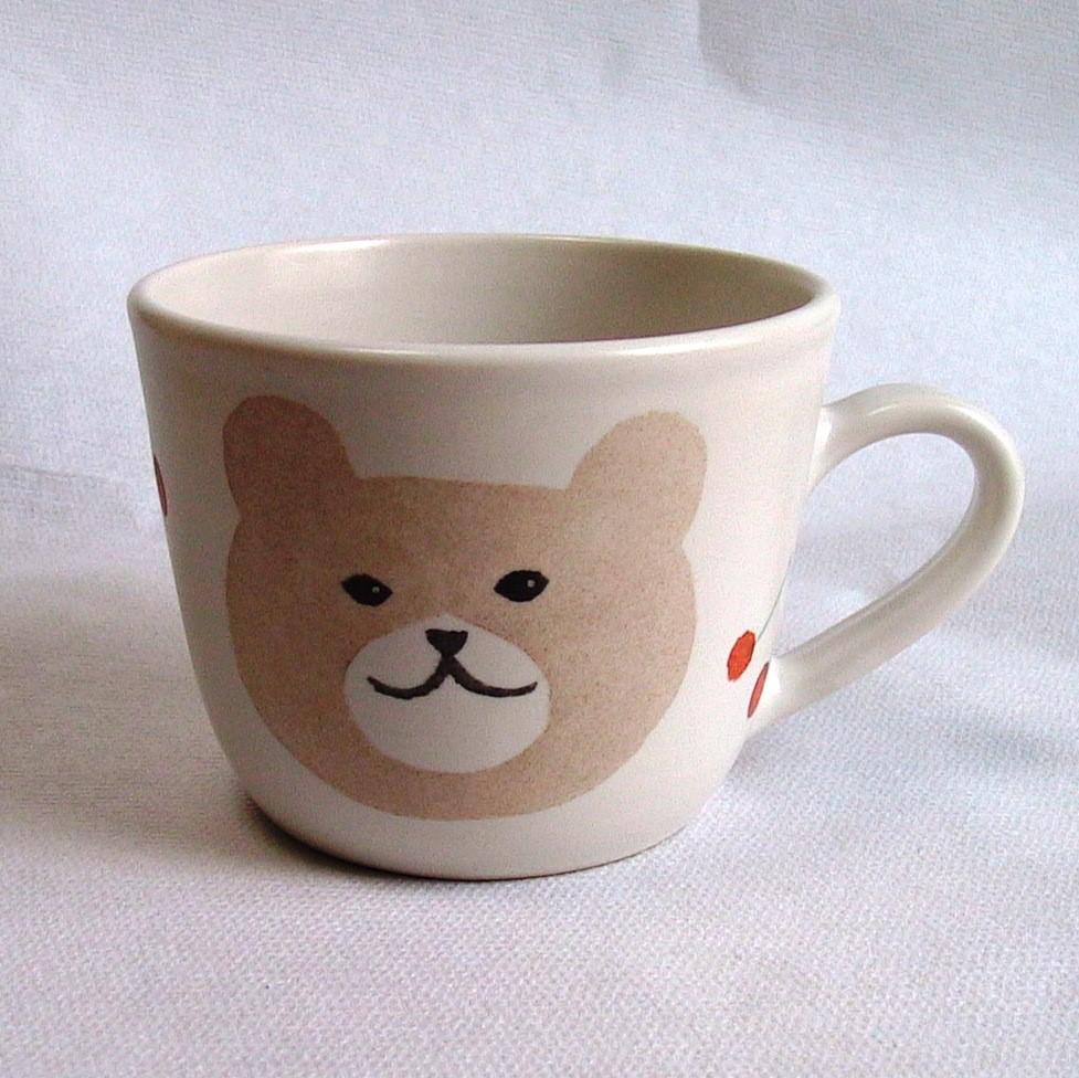 子供食器 マグカップ くま