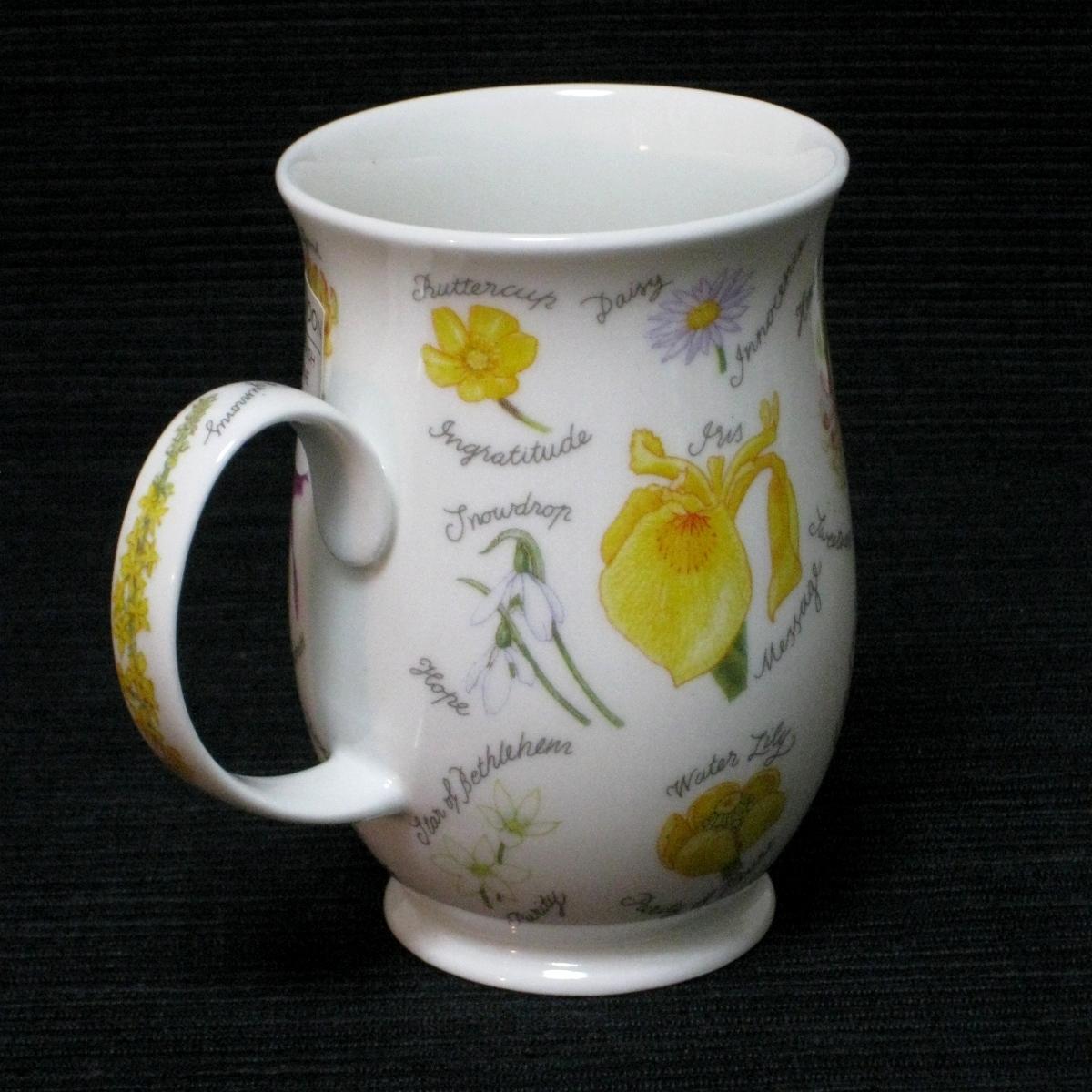 ダヌーン 花言葉 マグカップ  Dunoon Language of Flowers Mug Cup
