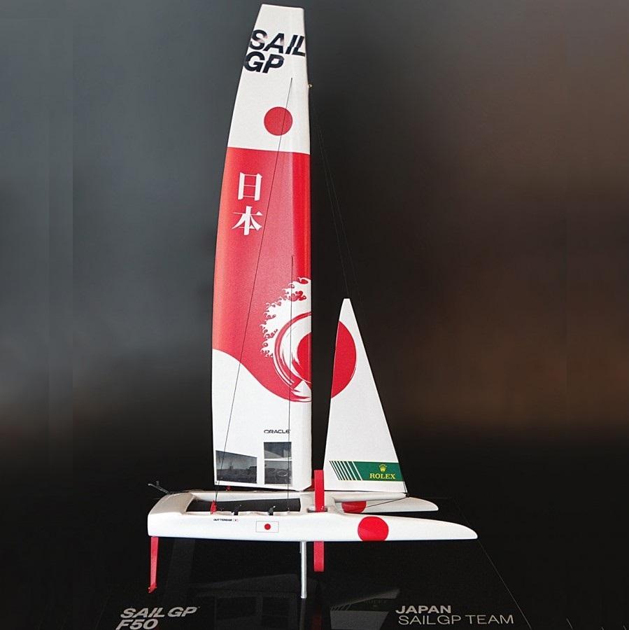 Wooden Yacht Model