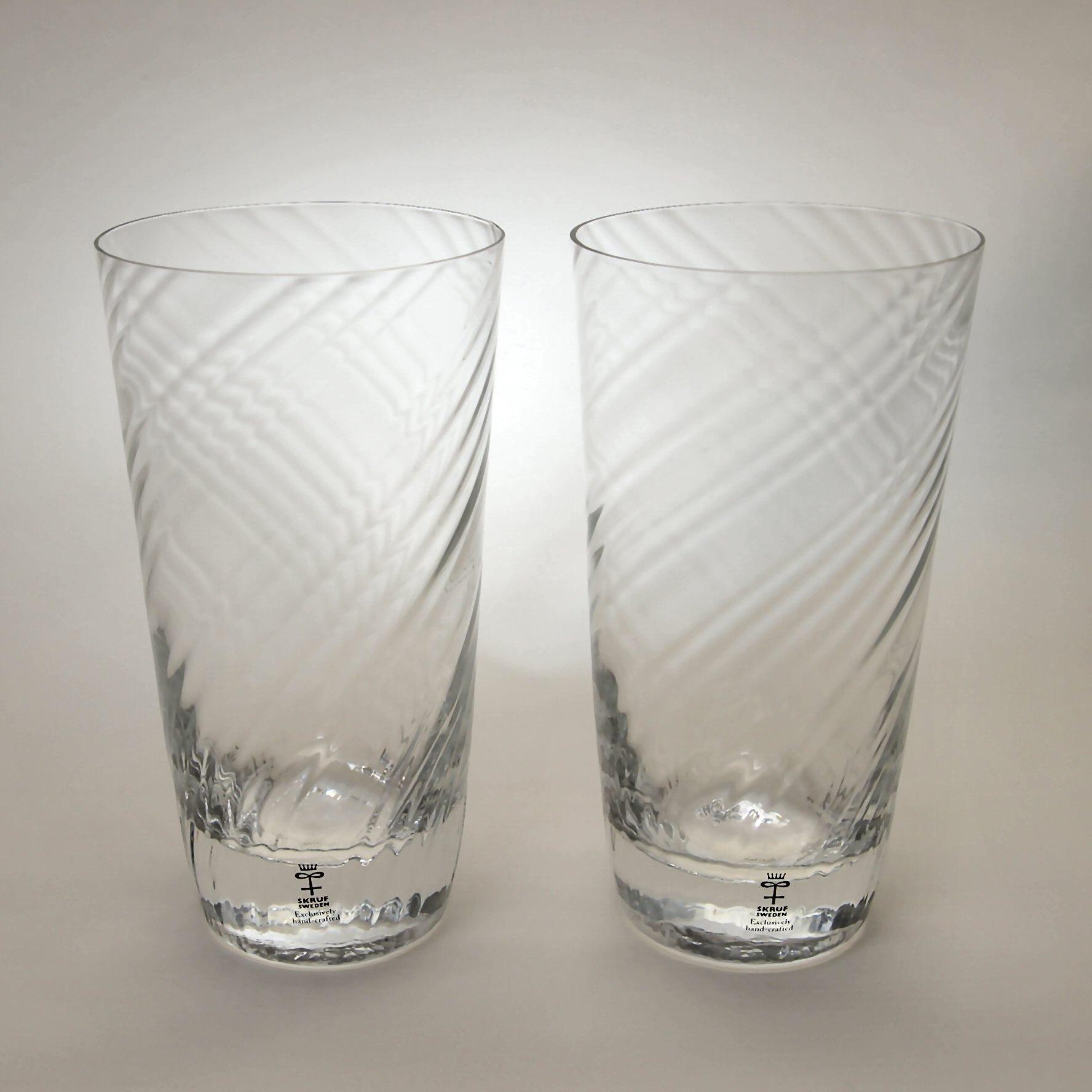 スクルフ 2018 ビールグラス ペアセット  SKRUF 2018 Beer Glass Pair Set