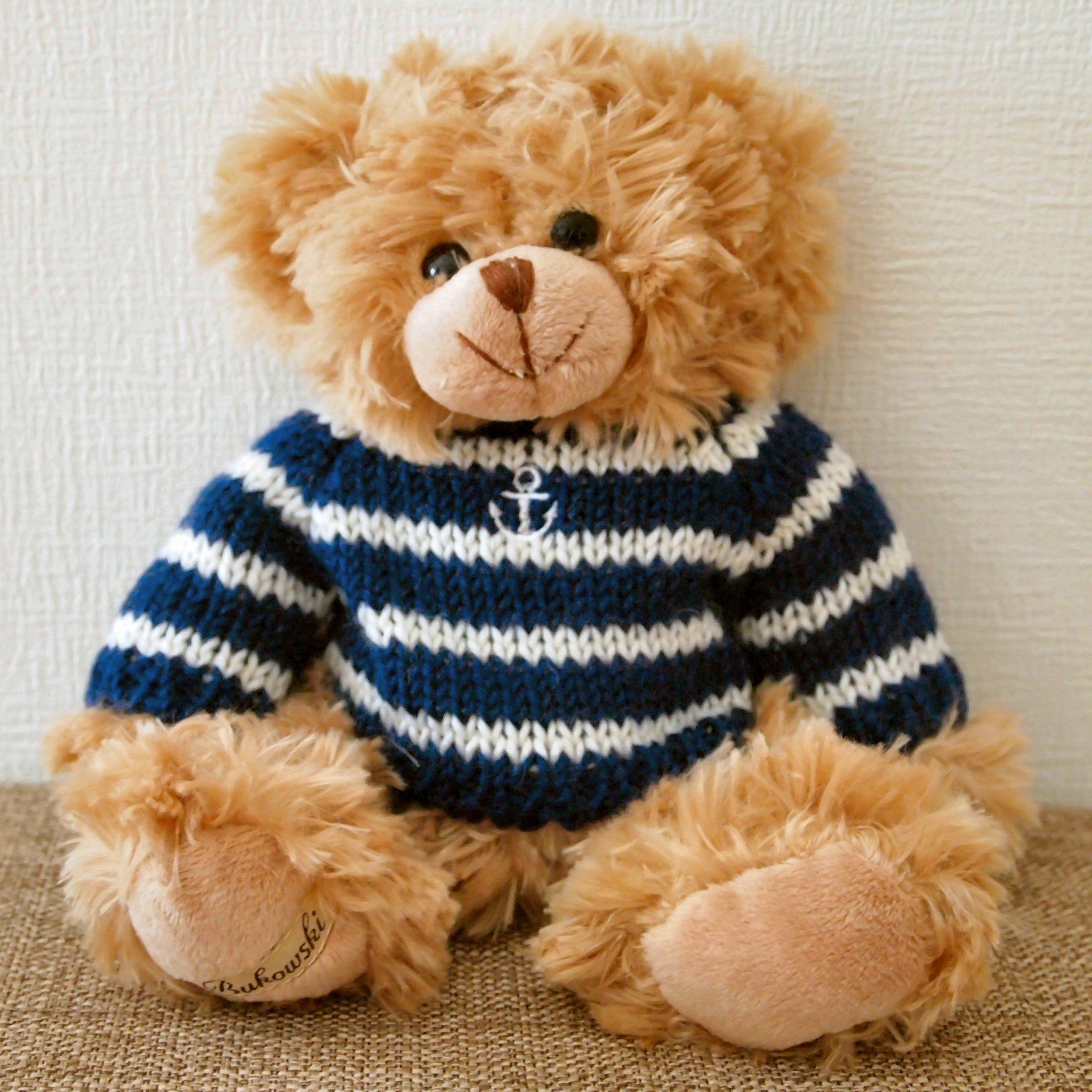 ブコウスキー テディベア Bukowski Teddy Bear