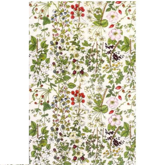 英国製のティータオル ワイルドフルーツ British Tea Towel Wild Fruit