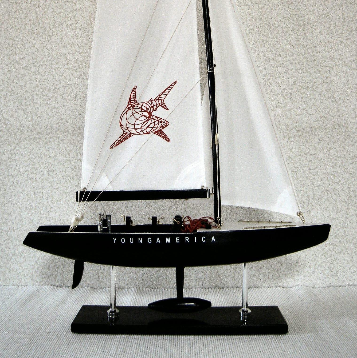 ヨット模型 USA_53 ヤングアメリカ