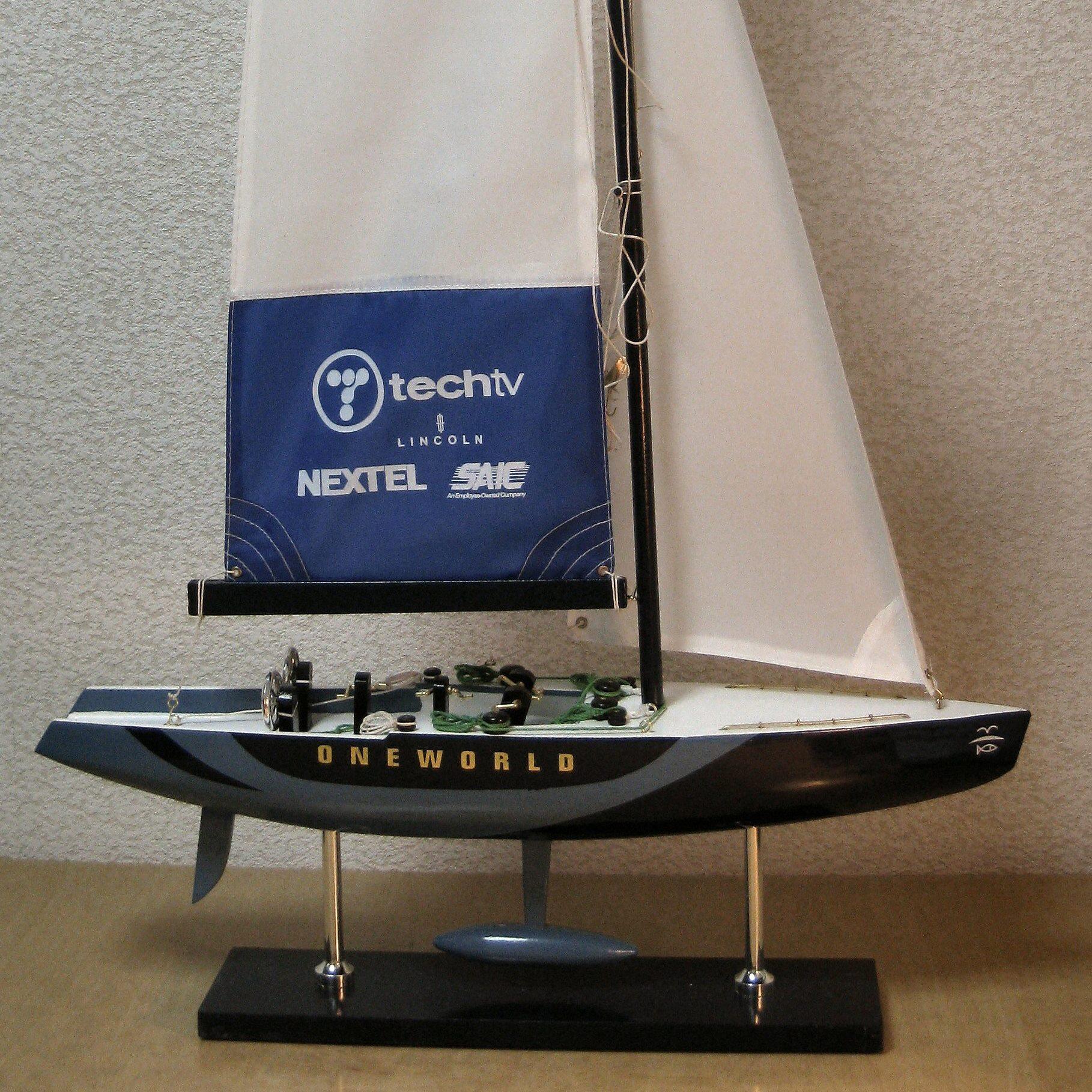 ヨット模型 USA_67 ワンワールド チャレンジ